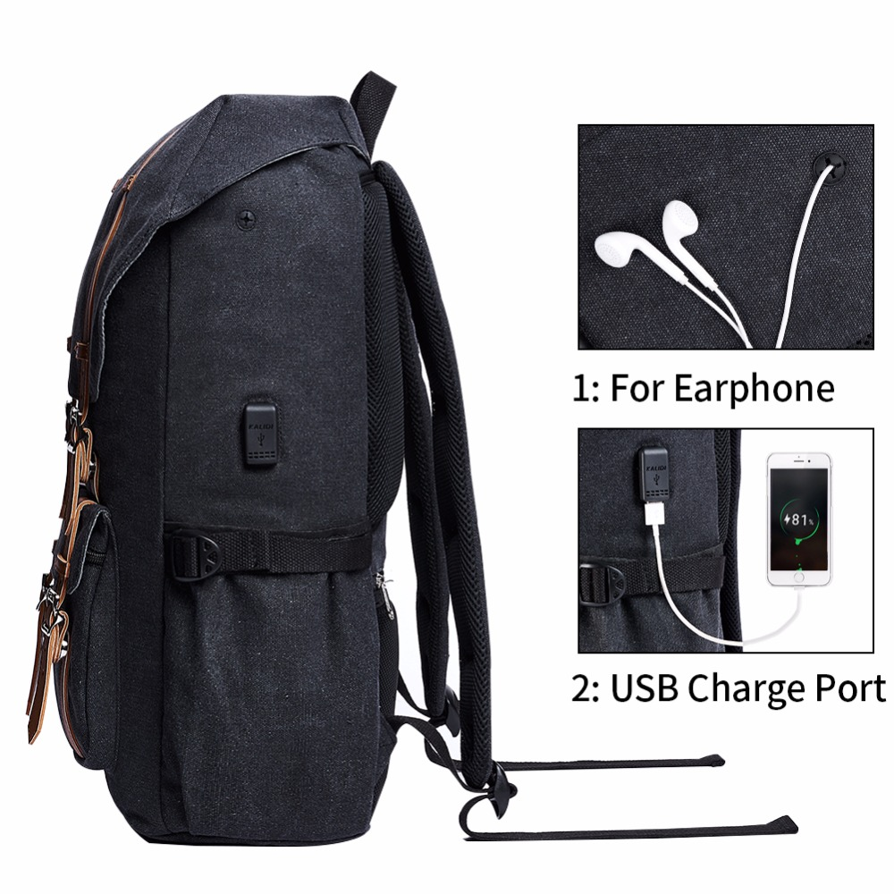 a23c00192be0 Teenage Preppy Leather Travel Backpack
