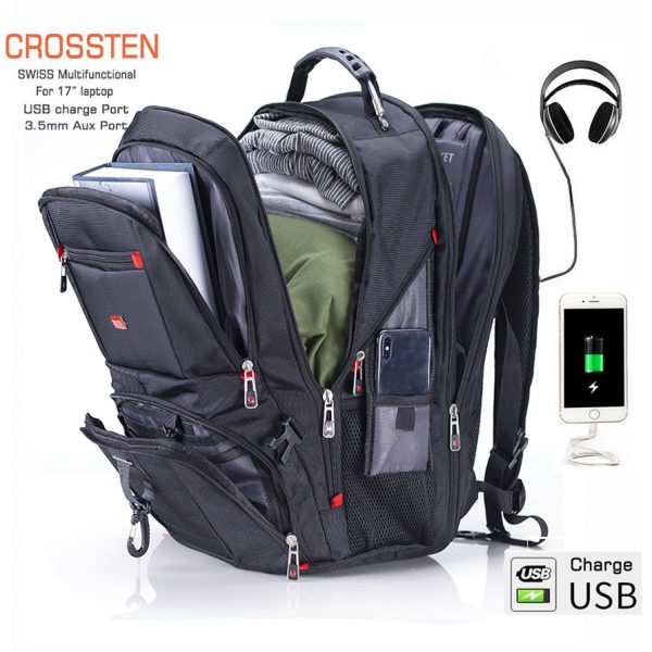Multifunctional Swiss Rucksacks